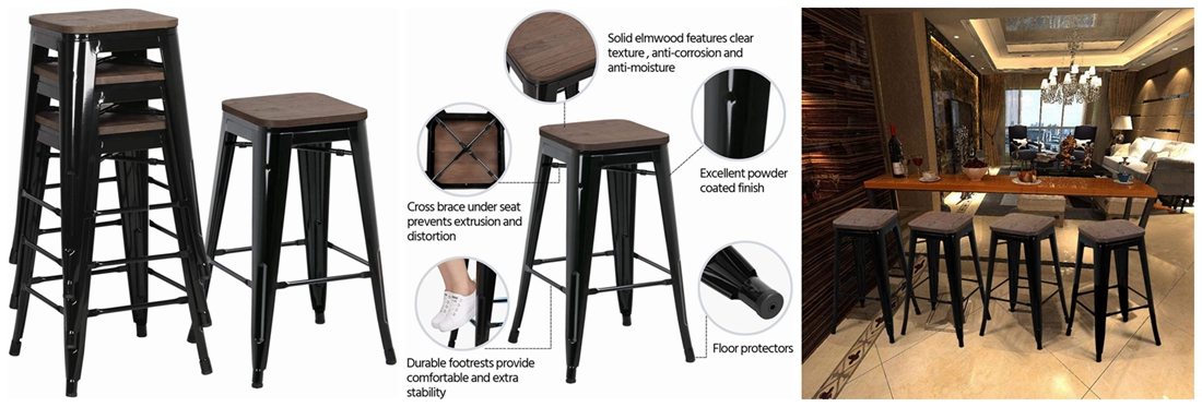 metal bar stool (3)