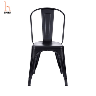 Hjinhui Multi-Colors Metal Dining Chiars/Black Metal Dining Chair
