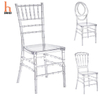 H Jinhui Elegance Crystal Ice Stacking Napoleon Chair Clear Chiavari Chair