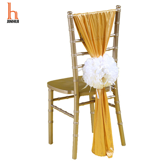H Jinhui Wedding Chair Covers Sashes/Chiavari Chair Cover Sash