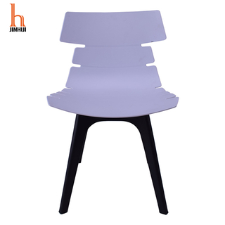 H Jinhui Nordic Design Armless Plastic Chairs for Dining Room/bedroom/conference