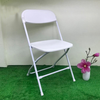 H-jinhui Plastic Stacking Wedding Party Folding Chair